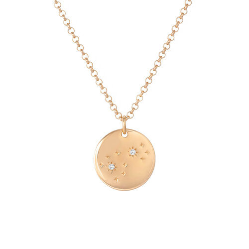 Sky Necklace | Classic Gold Plated