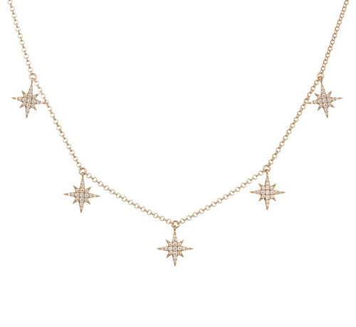 Selesta Necklace | Classic Gold Plated