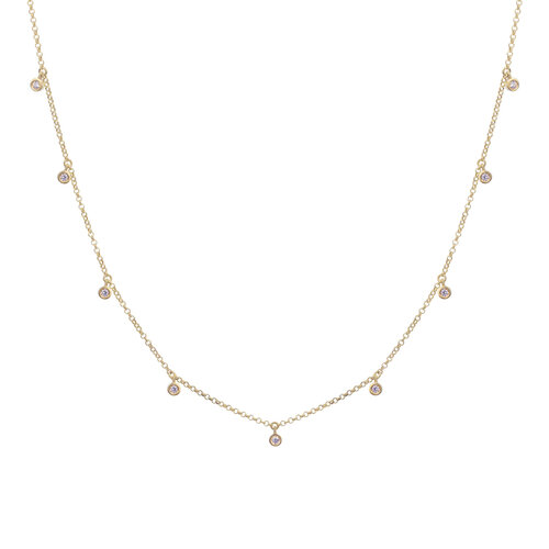 Bluebell Necklace | Yellow Gold Plated
