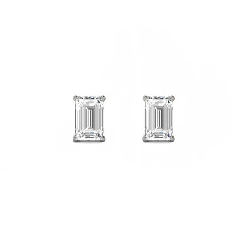 Nicole Earrings | White Gold