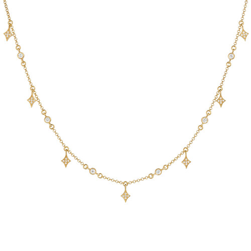 Alice Necklace | Yellow Gold Plated