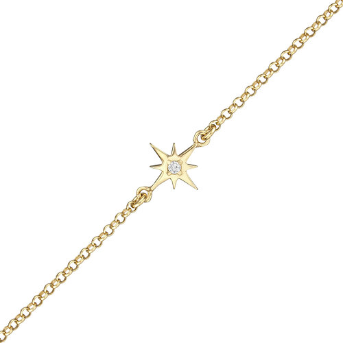 Star Bracelet | Yellow Gold Plated