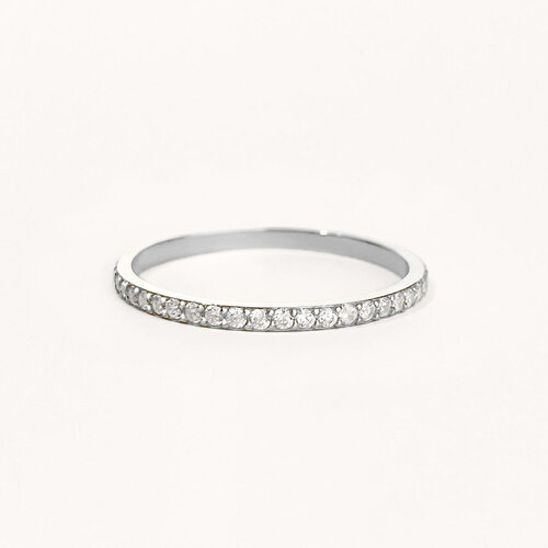 Eternity Ring | Rhodium Plated