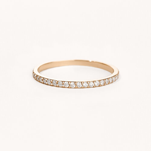 Eternity Ring | Classic Gold Plated