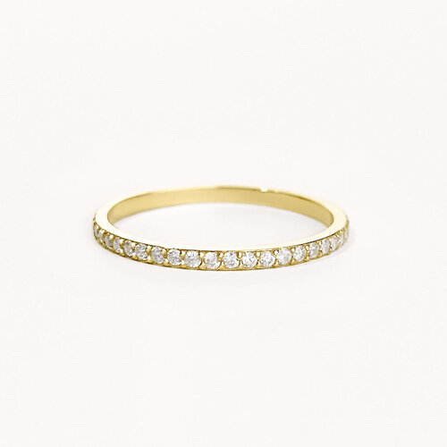 Eternity Ring | Yellow Gold Plated