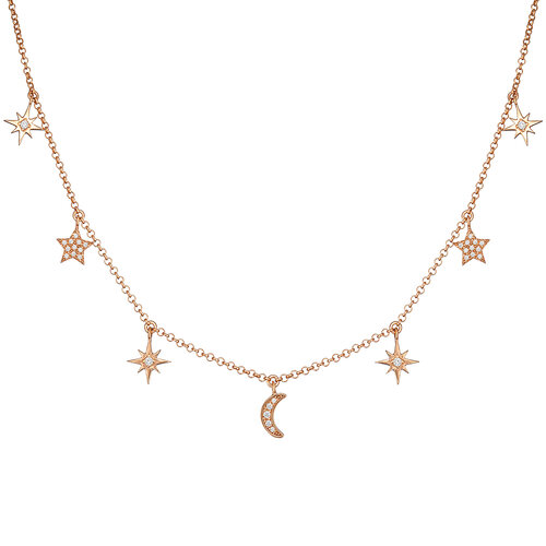 Moonlight Necklace | Classic Gold