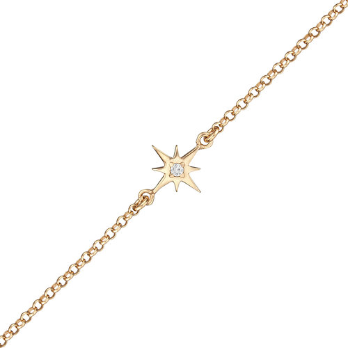 Star Bracelet | Yellow Gold
