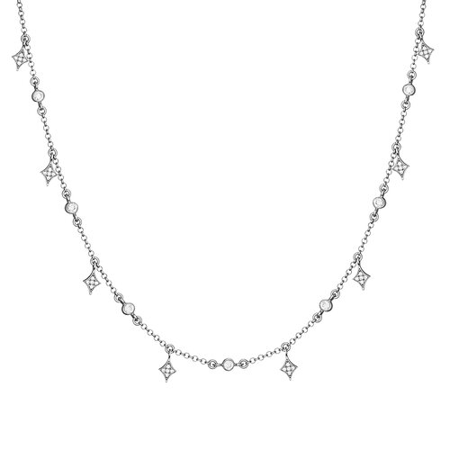 Alice Necklace | White Gold