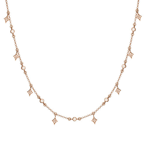 Alice Necklace | Classic Gold