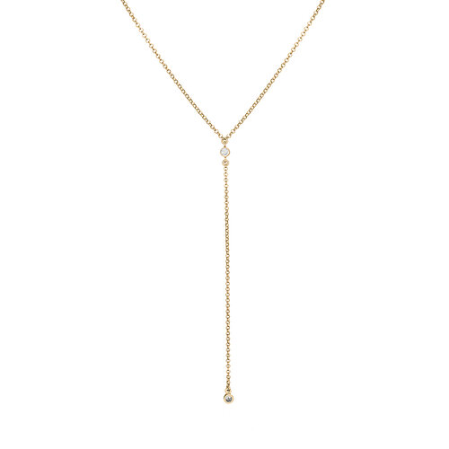 Cherry Necklace | Yellow Gold