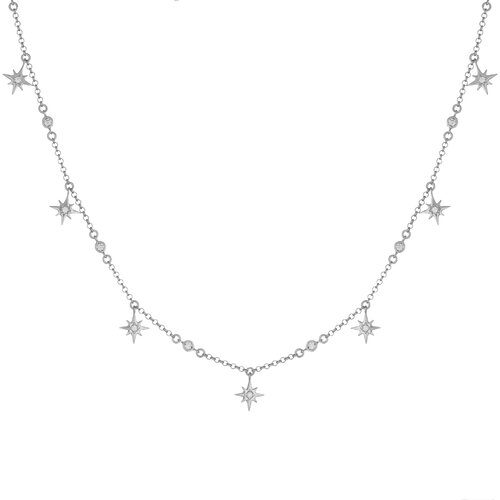 Juliette Necklace | White Gold