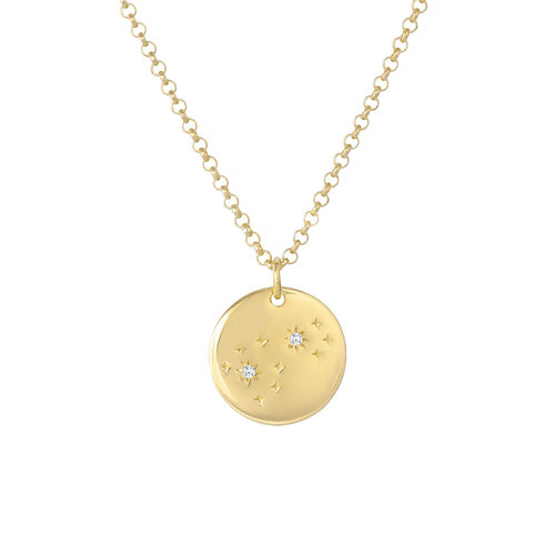 Sky Necklace | Yellow Gold Plated