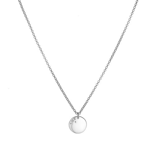 Diamond Dalia Necklace | White Gold