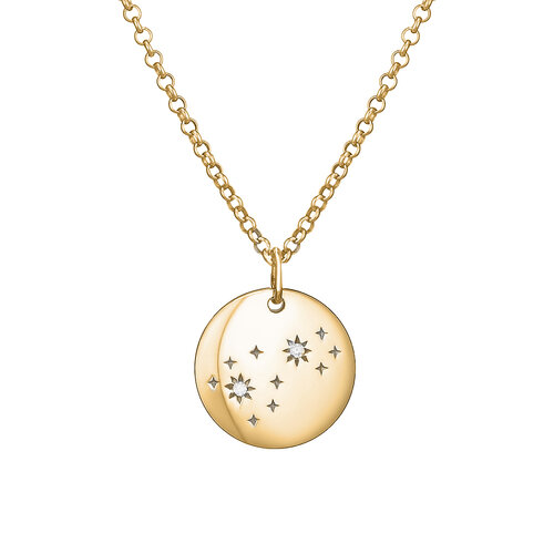 Diamond Sky Necklace | Yellow Gold