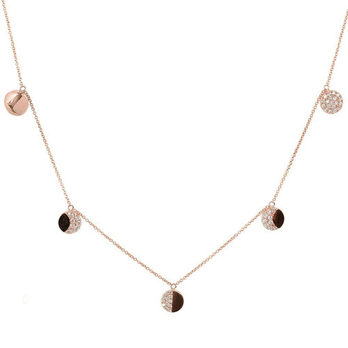 La Luna Necklace | Classic Gold