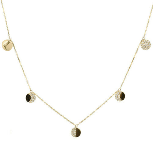 La Luna Necklace | Yellow Gold