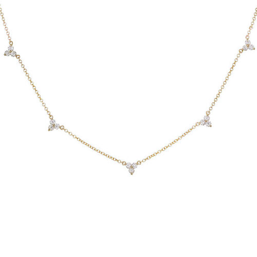 Jasmine Necklace | Yellow Gold