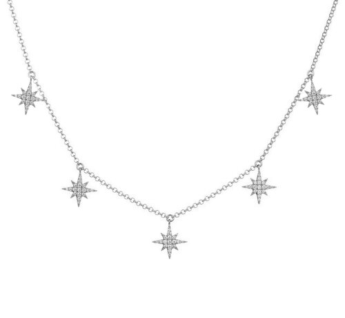 Selesta Necklace | White Gold