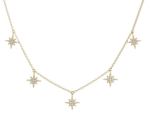 Selesta Necklace | Yellow Gold