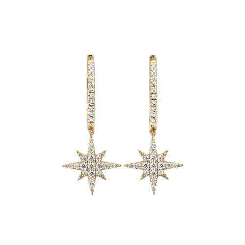 Celine Earrings | Yellow Gold Plated
