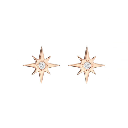 Star Earrings | Classic Gold