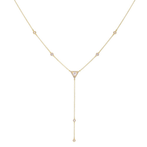Tiare Necklace | Yellow Gold Plated