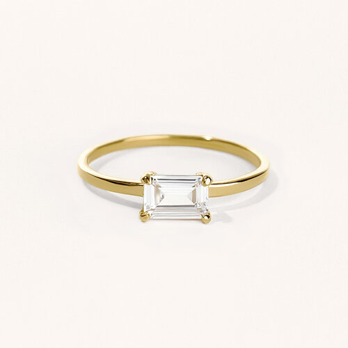 Nicole Ring | Yellow Gold Plated