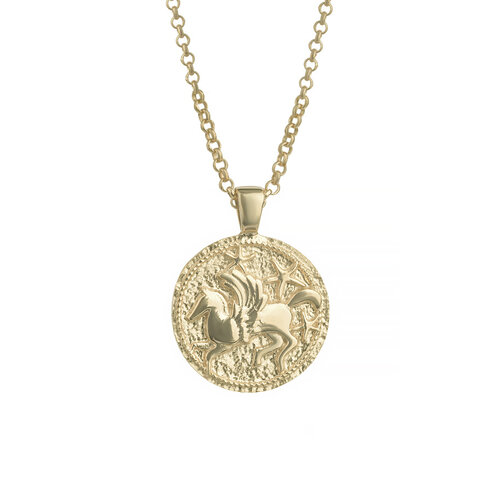 Pegasus Necklace | Yellow Gold