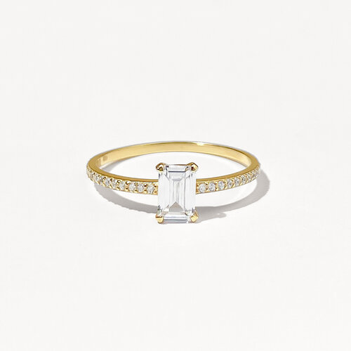 Emily Ring | Yellow Gold