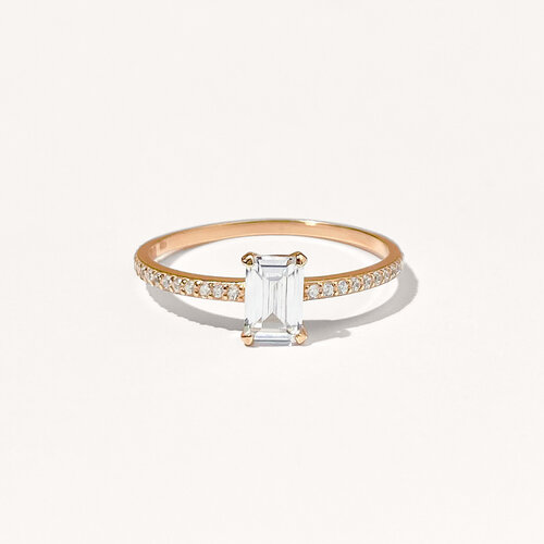 Emily Ring | Classic Gold Plated