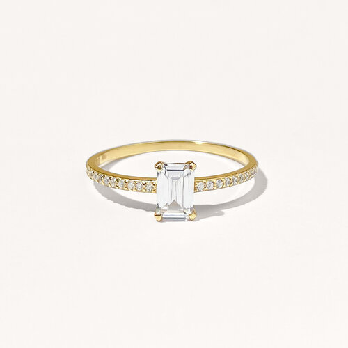 Emily Ring | Yellow Gold Plated