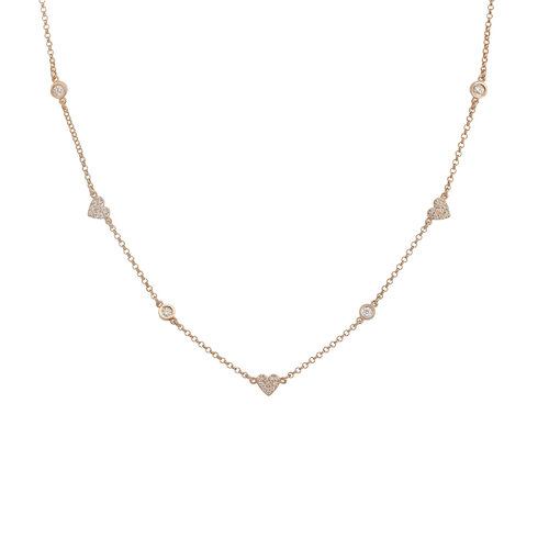 Te Amo Necklace | Classic Gold