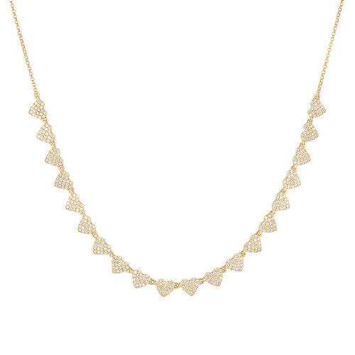 Adore You Necklace | Yellow Gold Plated