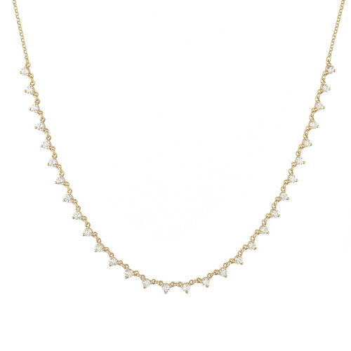 Nude Necklace | Yellow Gold Plated